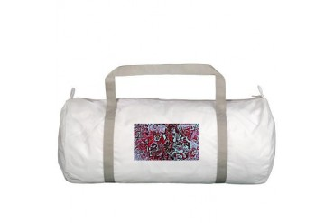 Invisible Nature Gym Bag by CafePress