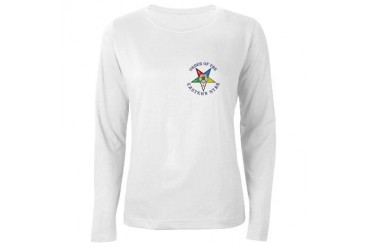 OES Freemasonry Women's Long Sleeve T-Shirt by CafePress