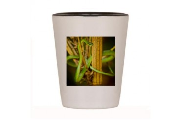 Atomic Snake Cool Shot Glass by CafePress