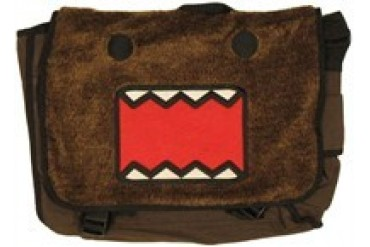 Domo-Kun Plush Face Messenger Bag