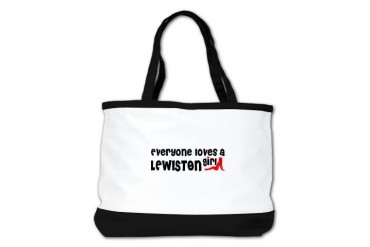 Everyone loves a Lewiston Md Girl Location Shoulder Bag by CafePress