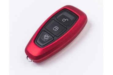 Agency Power Metallic Red Plastic Key FOB Protection Cased 1st Gen Remote Key Focus Focus ST 13-15