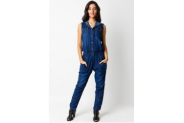 Cosmopolite Jeans Sleeveless Jumpsuit