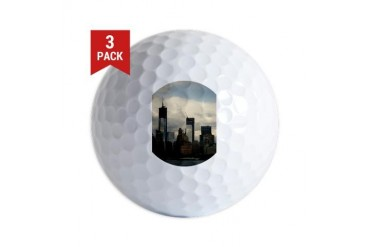 World Trade Center, New York New york Golf Balls by CafePress