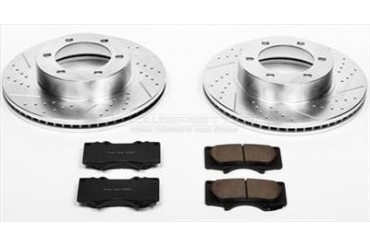 Power Stop Performance Brake Upgrade Kit K2324 Replacement Brake Pad and Rotor Kit