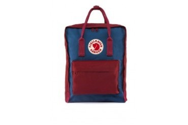 Royal Blue-Ox Red Kanken Classic Backpack