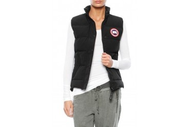 Freestyle Vest in Black - designed by Canada Goose