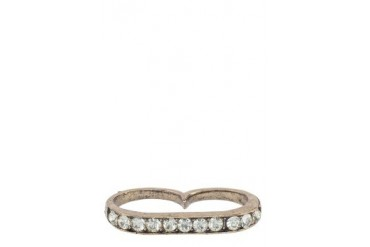 Tagg Crystal Double Ring