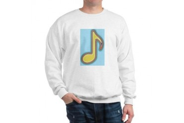 Music to the ears Music Sweatshirt by CafePress