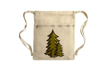 Tree Sack Pack Art Cinch Sack by CafePress