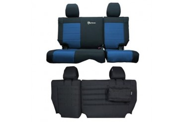 Trek Armor Rear Split Bench Seat Cover TAJKSC2013R4BL Seat Cover