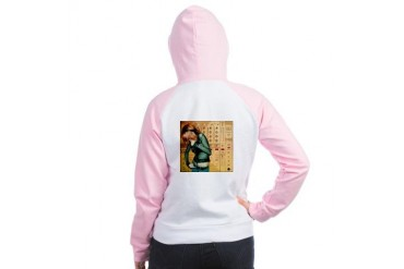 Listen Hard Women's Raglan Hoodie by CafePress