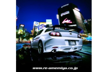 RE Amemiya After D1 Rear Bumper Mazda RX-8 03-11