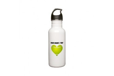 Custom Tennis Heart Stainless Steel Water Bottle