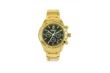 Cosmopolitan Gold Stainless Steel Men's Cronograph Watch