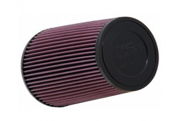 KN Round Tapered Universal Air Filter 6in-B 4.625in-T 9in-H 3in-F