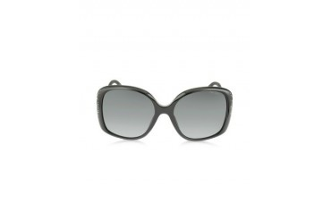 ZETA/S 2X4HD Black Oversized Square Frame Sunglasse