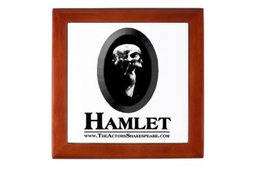 HAMLET Tile Treasure Box Ophelia Keepsake Box by CafePress