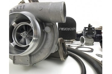 Perrin Performance Garrett GT3076R .82AR GTX Rotated Turbo Kit Subaru WRXSTI 02-07