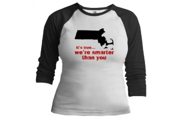 Boston Jr. Raglan by CafePress