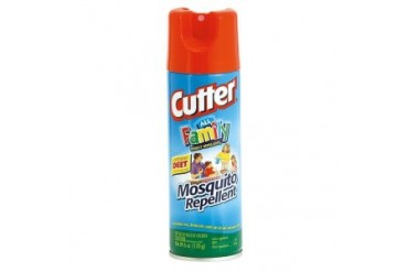 12 Pack Cutter All Family Aerosol Insect Repellent Spray