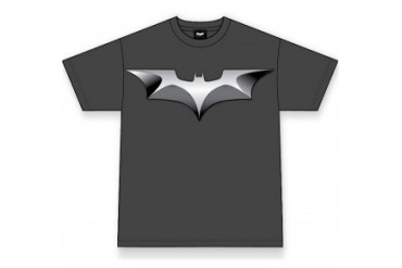 The Dark Knight Batman Shield Men's T-Shirt (Charcoal)