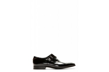 Ps By Paul Smith Black Wren Monk Strap Shoes