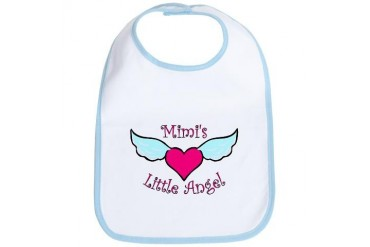 Mimi's Little Angel Bib