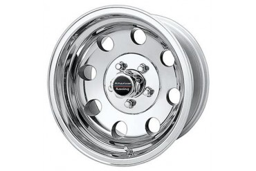 American Racing Wheels Baja, 15x8 with 5 on 114.3 Bolt Pattern - polished AR1725865 Wheels