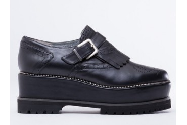 Senso Geoffry in Black Calf size 7.0