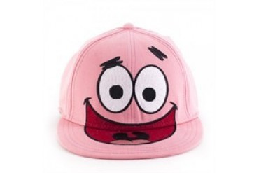 Spongebob Squarepants Patrick Face Embroidered Hat