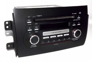 Suzuki 2007-12 SX4 AM FM Tuner mp3 wma CD XM Ready Radio CLCR17 39101-80JD0