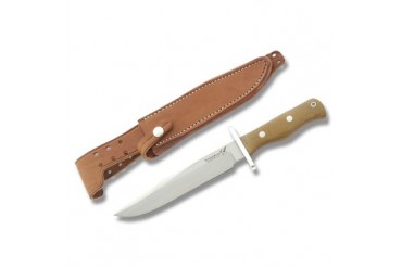 Blackjack Model 14 Halo Attack Classic with Natural Micarta Border Patrol Handle