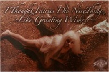 Labyrinth I Thought that Fairies Did Good Things Postcards