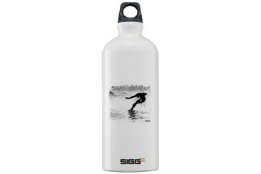 Artistic Surf Tee 17.jpg Sports Sigg Water Bottle 1.0L by CafePress