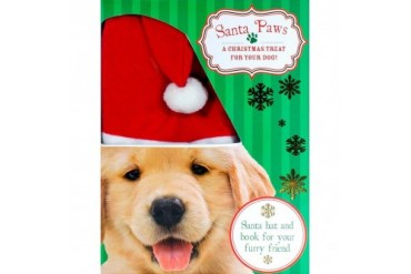 Santa Paws Hat and Book Set
