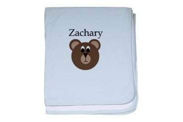 Zachary - Teddy Bear Baby baby blanket by CafePress
