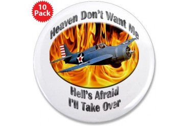 F4F Wildcat 3.5 Inch Button 10 pack Hobbies 3.5 Button 10 pack by CafePress