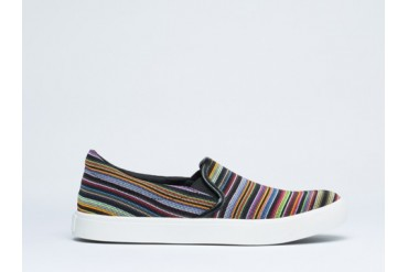 United Nude Elastic Slip On in Bright Mix size 6.0