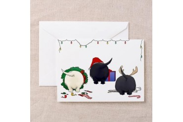 Scottish Terrier Christmas Cards Pk of 10 Pets Greeting Cards Pk of 10 by CafePress