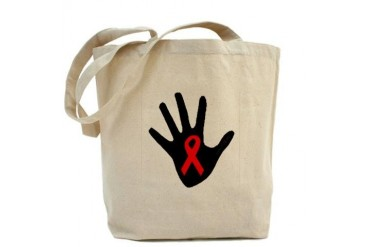 Poz Hand Bag Aids Tote Bag by CafePress