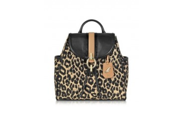 Sutra Leopard/Sandalwood Jacquard Backpack
