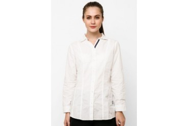 novel.mice Fitted Cotton Shirt