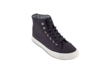 EZRA by ZALORA High Top Sneaker With Printed Lining