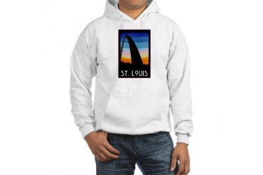 St. Louis Arch City Hooded Sweatshirt by CafePress