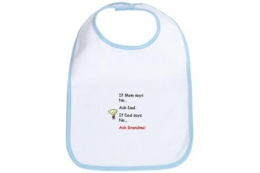 Funny from Grandma Funny Bib by CafePress