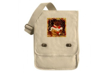 Champagn Burmese Xmas Funny Field Bag by CafePress