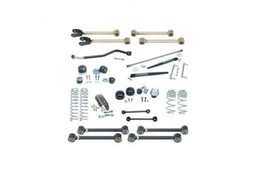 Currie 4 Inch Johnny Joint Lift Kit with Antirock CE-9801H Complete Suspension Systems and Lift Kits