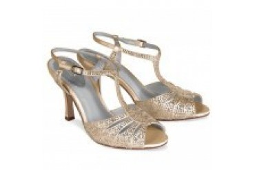 Pink by Paradox London Shoes - Style Glow-Champagne