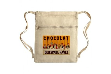 Delespaul-Havez Chocolate Sack Pack Kids Cinch Sack by CafePress